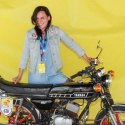 "Sarah ""Meisje"" Tonnelier (Yamaha RD50)"